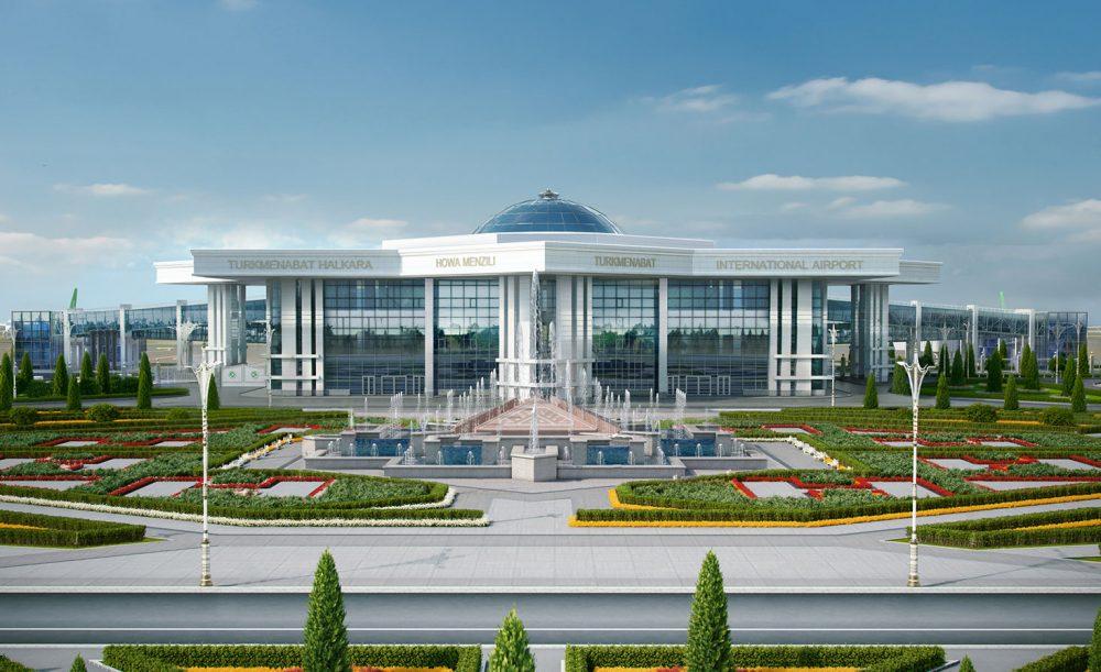 turkmenebathairport